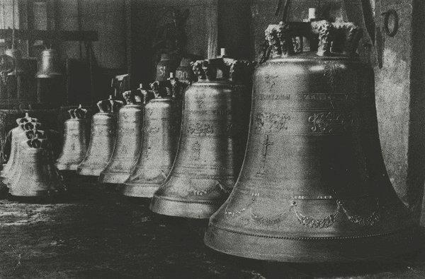 Leffe (1950) - Chiesa Parrocchiale di S. Michele Arcangelo nuovo concerto di dieci campane