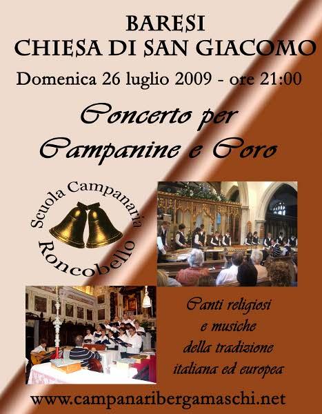 Concerto campanine coro