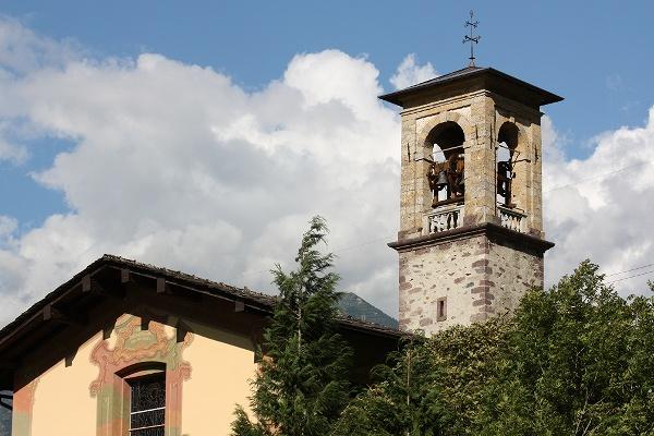 Il campanile del Santuario della Beata Vergine della Coltura (Lenna - Alta Valle Brembana)