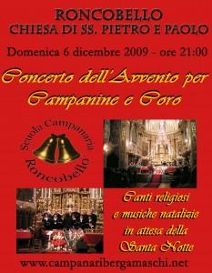 Manifesto Ronco Natale 2009