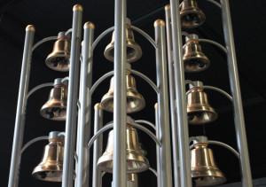 Carillon posto all'entrata del Museo Paccard