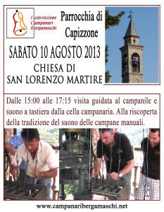Manifesto Capizzone 2013
