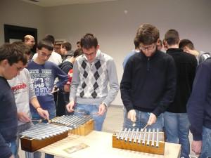 I seminaristi si cimentano sulle campanine