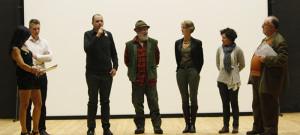 Un momento della presentazione dei protagonisti della serata