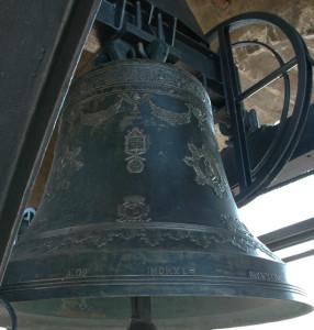 Campana del 1948 posta sulla Torre Civica di Bergamo