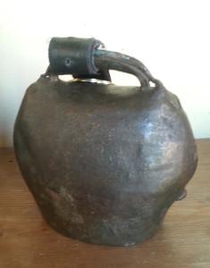 Antica campana dei pastori utilizzata per il Gloria