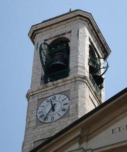 Le campane della Chiesa Arcipresbiterale Plebana di Nembro, senz'altro udite in fonderia da Suor Pierina durante il suo servizio presso Casa Ottolina nel Secondo Dopoguerra.