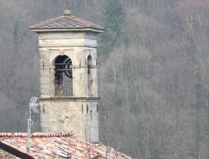 Il campanile della Chiesa della Beata Vergine del Carmelo