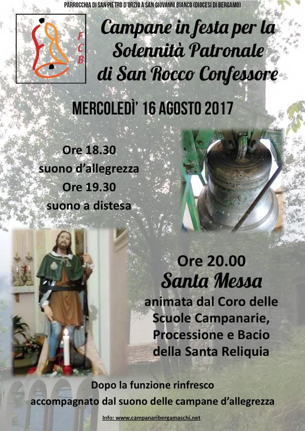 Suono Campane A Festa.Campane In Festa Al Bosco Per San Rocco Federazione